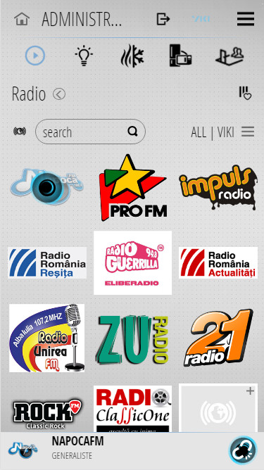 viki radio iphone light