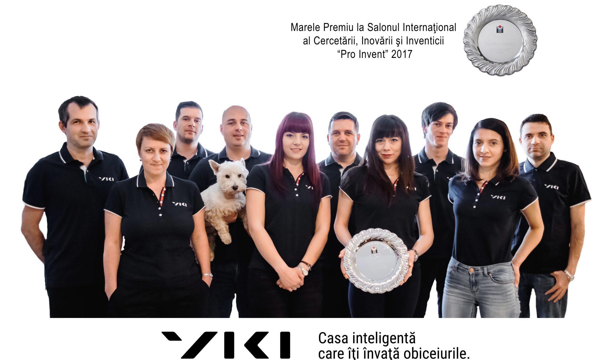 viki echipa premiu pro invent 2017