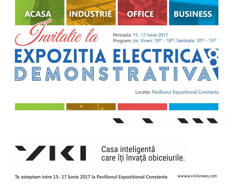 viki expozitia electrica demonstrativa 2017 invitatie